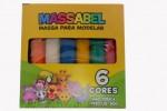 MASSA DE MODELAR 6 BARRAS 90 GRAMAS 649