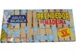 PRENDEDOR DE MADEIRA 12 PÇS 5422