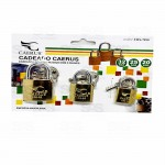 CADEADO 3 PCS 6143