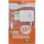CABO TIPO C TURBO 3 ENTRADAS 8319