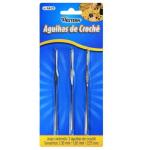 AGULHAS DE CROCHE 3 PÇS 4448